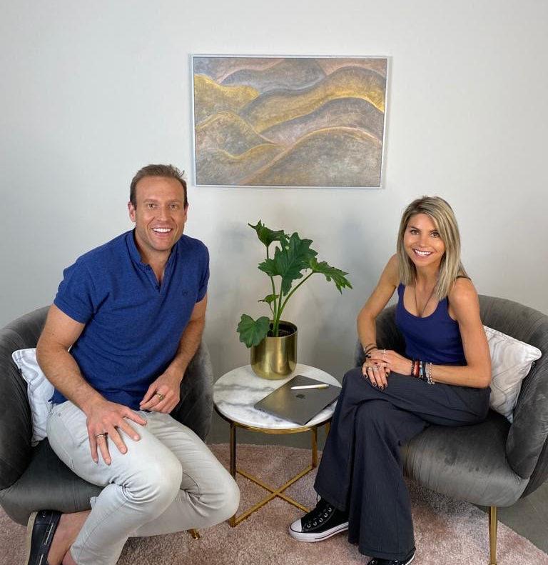 Dr. Zac Turner and Alisha Polsen